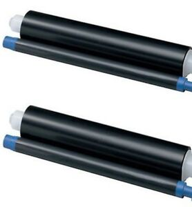 2 x KX-FA55E FAX FILM ROLLS For Panasonic KX-FC151/161/156/176/195 FP80/152/165