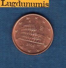 Italie 2008 - 5 centimes d'Euro - Pièce neuve de rouleau - Italia