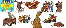 10 SCOOBY DOO  VINYL WALL STICKERS 3 SIZES A6 A5 A4