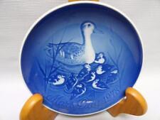 "Vintage Porcelain Bing Grondahl (B&G) 1973 Mothers Day Plate - 6"" Ducks"
