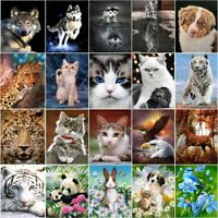 DIY Animals Full Drill 5D Diamond Painting Cross Craft Stitch Kits Pictures