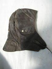 WWII GERMAN NAVY KM KRIEGSMARINE u-boot uniform leather cap hat hood helmet