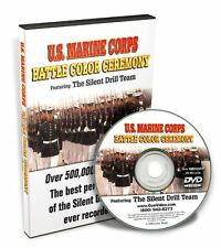 U.S. Marine Corps Battle Color Ceremony Featuring The Silent Drill Team DVD 7573