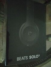 Beats Solo3 Wireless On-Ear Headphones - Black NEW IN SEALED BOX FREE SHIPPING