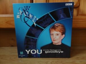 BBC / Hasbro THE WEAKEST LINK Game 2001 - based on the TV quiz show