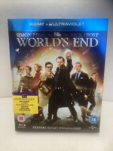 The Worlds End Blu Ray Simon Pegg