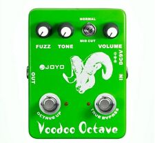JOYO JF-12 Guitar Effect Pedal Voodoo Octave Fuzz Effect, electric bass dynamic
