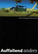 Prospekt 1996 Mercedes Vito L 8/96 brochure Autoprospekt Auto PKWs broschyr
