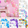 113Pcs Party Balloons Garland Arch Birthday Wedding Baby Shower Party Decor