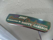 NEW TITLEIST SCOTTY CAMERON VIP LTD EDITION PUTTER 35 STAMPED 1/130 SEALED GRIP