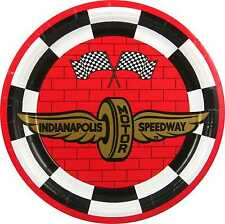 "Indianapolis 500 9"" Paper Plates - 8/pkg"