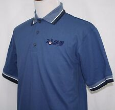 BOEING F/A-18 Super Hornet 1985-2005 Embroidered Logo Polo Shirt Blue Small NEW