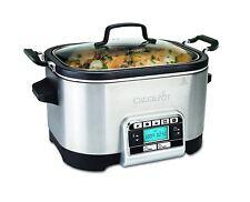 Crock-pot Multi-cocina, 5.6 L-Plateado