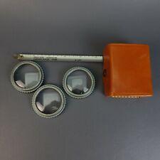 Vintage POLAROID Close-Up Lens Plus Set with Retractable Field Focus Tape & Case