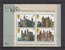 GB 1978 BRITISH ARCHITECTURE MINIATURE SHEET SG: MS1058 MINT STAMP SHEET SEE #58