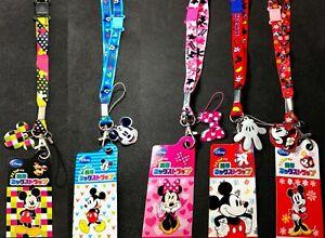 Disney Mickey/Minnie Breakaway Lanyard/Landyard ID Key Holder Angry Birds BNWT