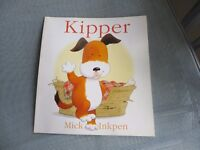 Kipper by Mick Inkpen Paperback childrens book