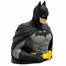 NEW 7 INCH BATMAN RESIN BUST MONEY BOX STATUE PIGGY BANK DARK KNIGHT DC COMICS