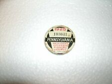 1925 pa Pennsylvania fishing license #100041