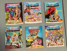 1980s lot of 6 masters of the universe he-man mini comics - 1 owner(me)