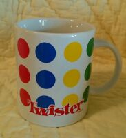Twister Floor Game Coffee Cup Mug Gift collectible