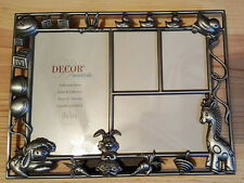 """Decor Essentials Baby Photo Frame 8 3/4"""" Wide 6 1/2"""" Tall Holds 4 Photos"""