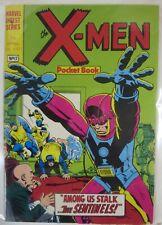 MARVEL 1982 BRITISH DIGEST: X-MEN #26- b&w reprint, featuring the Sentinels!