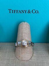Tiffany & Co Vintage Paloma Picasso True Love 0.22 TCW Diamond Solid PT/18K Ring