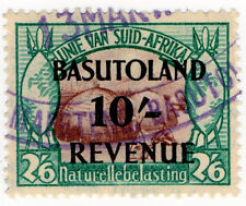 (I.B) Basutoland Revenue : Duty 10/-