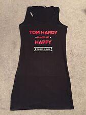TOM HARDY FAN RACER BACK VEST TOP 8 10 12 14 16