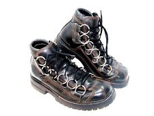EXCELLENT GBX MENS Motorcycle Boots 9 Med  Biker Road Warrior STEAMPUNK BOOTS