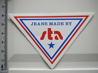 Aufkleber Sticker - Jeans Made by sta - Decal (2382)