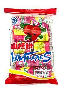 Greenlike Ready to Eat Haw Flakes Snacks Hawthorn Berry Shanzha 山楂饼 零食