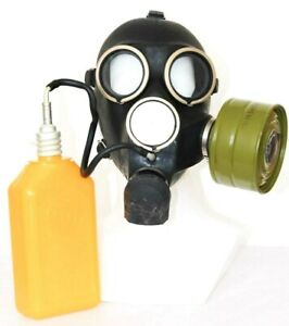 Gas Mask GP-7V Kit Soviet Russian with flask NEW VINTAGE WW2 all sizes RETRO