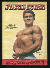 MUSCLE POWER Magazine Vol. 1 No. 6 September 1946 Bodybuilding Health Post-War