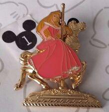 Aurora King Arthur Carousel Horse Golden Vehicle Sleeping Beauty Disney Pin