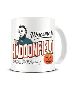 Welcome To Haddonfield Halloween Mug Horror Slasher Movie Film Michael Myers Mug