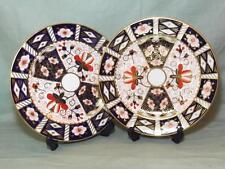 2 Royal Crown Derby Salad Starter Dessert Plates 21cm Imari Pattern 2451