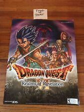Dragon Quest VI 6 Official Promo Poster 2011 Nintendo DS NDS Square Enix Warrior
