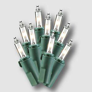Philips 200ct Christmas LED Mini String Lights Warm White Easy Storage Spool NEW
