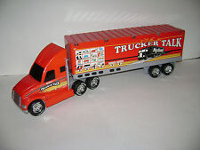 Nylint Sound Machine Trucker Talk Semi Truck & Trailer 1994 Toy 18 Wheeler RARE