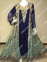 Salwar Kameez Pakistani Indian Party Wear Designer Shalwar Embroidery M,L,XL
