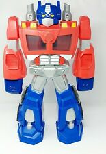 Optimus Prime Transformers Heroes Epic Rescue Bots Action Figure Large 2013 22""