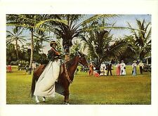 Postkarte - Reproduktion - Hawaiian pa'u rider during the Mid-Pacific Carnival..