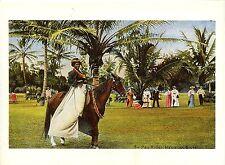 Postal-reproducción-Hawaiian pa 'u Rider during the Mid-Pacific carnival...
