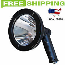 Led Rechargable Hunting Shooting Fishing Camping Handheld Spotlight Strong Light
