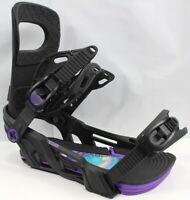 Bent Metal Metta Snowboard Bindings Large (US Women's 9+) Black New