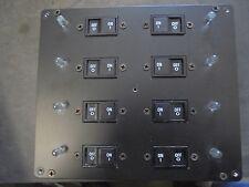 """NEW 8 BREAKER PANEL OFF LAZARA YACHT 7.5""""L X6.6""""H X 4""""D  BOAT RV"""