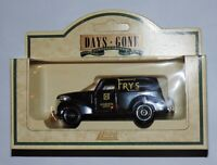 Lledo Days Gone Diecast Model Van  Fry's  Cocoa Edinburgh Depot Car