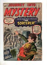 Journey Into Mystery #78 DR. STRANGE PROTOTYPE! Fn+ 6.5 Marvel 1962 KIRBY/DITKO!